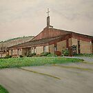 Sanctuary Collection, Skinner Eddie Methodist Church, Laceyville, Pennsylvania by TheRBStudio