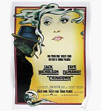 Weinlese-Plakat - Film Chinatown Poster