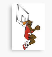 The Great Dunk Canvas Print