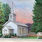Sanctuary Collection, Spring Hill United Methodist Church, Laceyville, Pennsylvania by TheRBStudio