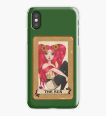 Pop Surreal Sun Tarot Card iPhone Case/Skin