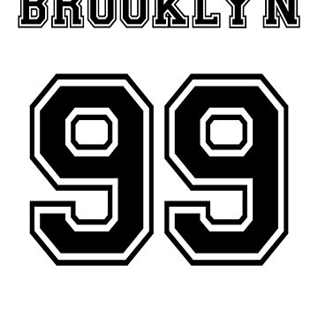 Brooklyn 99 (Black Font) by opiester