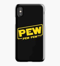 A Pew Pew Story iPhone Case