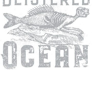 Blistered Ocean - 01 (for dark colored shirts) by RibMan
