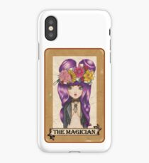 Pop Surreal Magician Tarot card iPhone Case/Skin