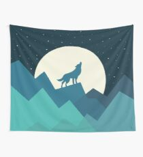 Keep The Wild In You Wall Tapestry