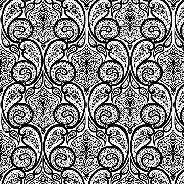 Parade Paisley Pattern by LuzECruz