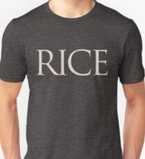 Rice University (Written w/ Rice) Unisex T-Shirt