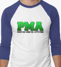 PMA - Positive Mental Attitude - Jacksepticeye - Font 3 Men's Baseball ¾ T-Shirt