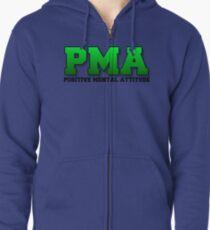PMA - Positive Geisteshaltung - Jacksepticeye - Font 3 Kapuzenjacke