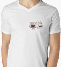 Spread chocolate, not negativity Men's V-Neck T-Shirt