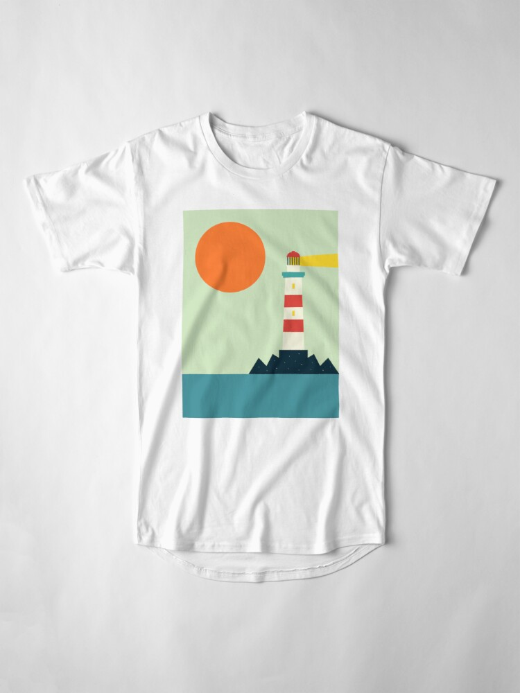 Alternate view of Lighthouse Long T-Shirt