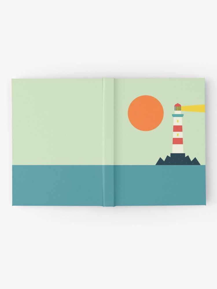 Alternate view of Lighthouse Hardcover Journal