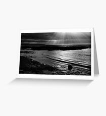 Light On The Firth Greeting Card