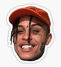 Lil Skies Rapper Face Sticker
