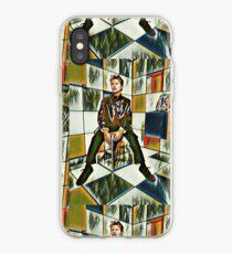 David Bowie cubist kaleidoscope iPhone Case