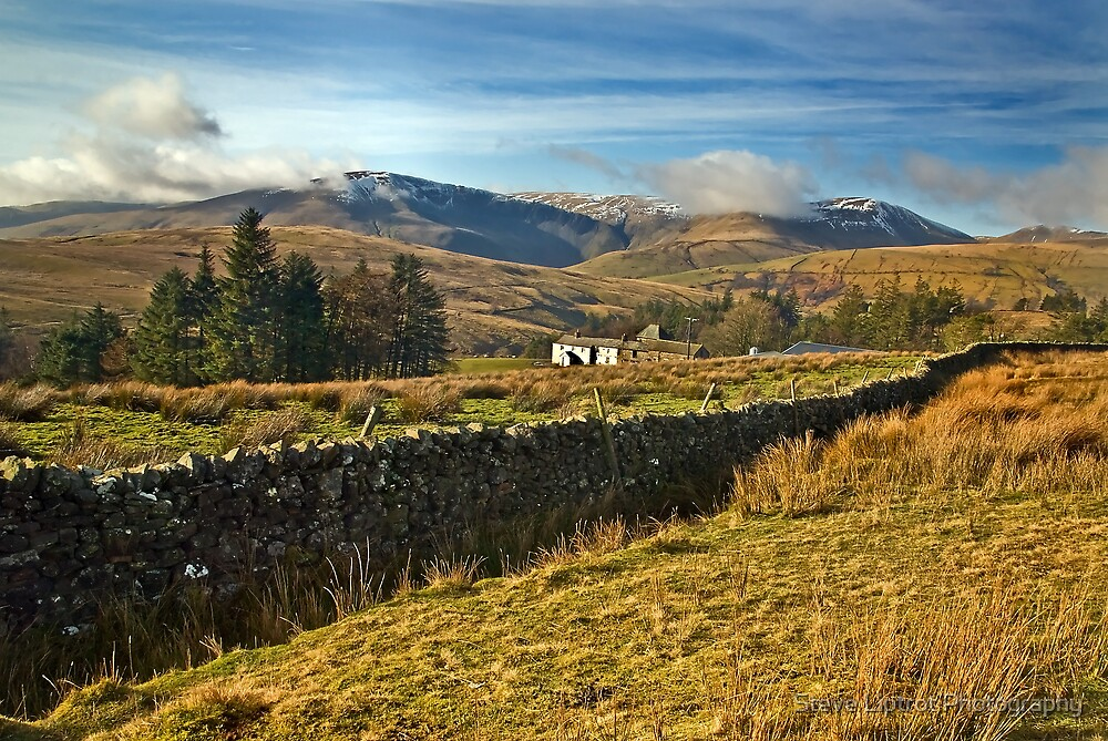The Howgills from Uldale, Cumbria by Stephen Liptrot