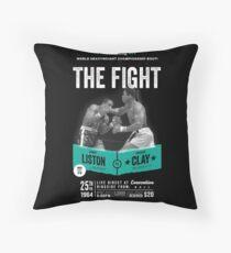 Cojín de suelo Cassius Clay vs Sonny Liston - Ali Boxing Shirt