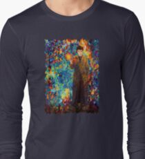 time lord with screwdriver Abstract Long Sleeve T-Shirt