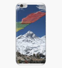 Prayer Flags Over Everest iPhone Case