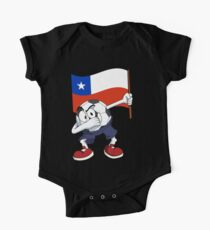 Chile Dabbing Soccer Ball One Piece - Short Sleeve