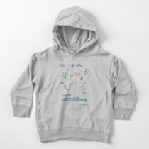 Cute Microbiome Toddler Pullover Hoodie