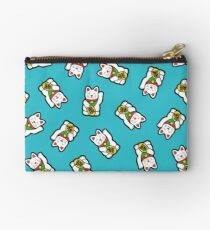 Lucky Cat Pattern Studio Pouch