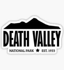 Death Valley Travel Sticker