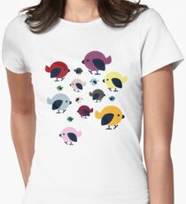 The Birds Women's Fitted T-Shirt