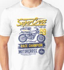 SUPER CROSS RACE CHAMPION MOTOR CROSS 1989    T-SHIRT Unisex T-Shirt