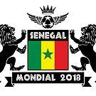 Les Lions Du Senegal by senegalatrussia