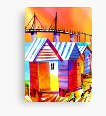 Brighton Beach Houses, Melbourne Australia Canvas Print