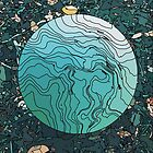 Blue Globe by spiralpaper