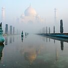 Taj Mahal at Sunrise 01 by Werner Padarin