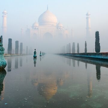 Taj Mahal at Sunrise 01 by fotoWerner