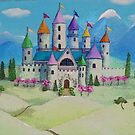 Fairy Tale Castle for a Princess by Melissa J Barrett