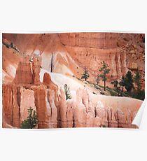 Bryce Canyon's Natural Sculptures Poster
