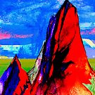 Opal Mountain , Melbourne Australia by givejoydesigns