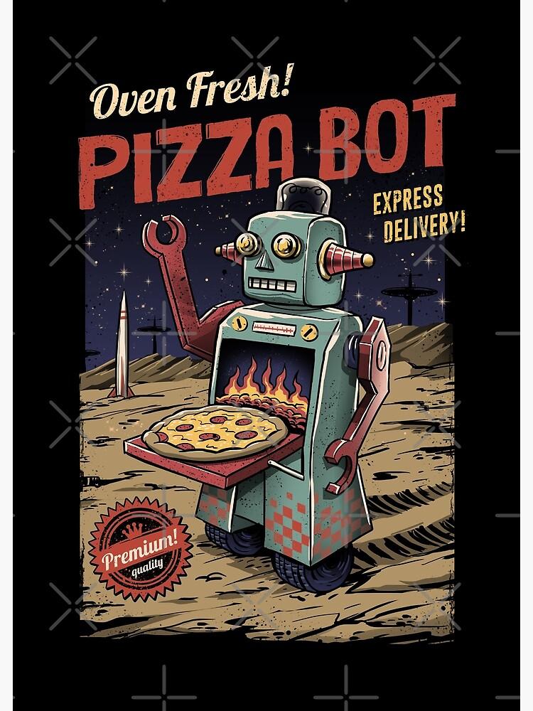 Pizza Bot by vincenttrinidad
