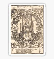 Albrecht Dürer or Durer Philosophy Sticker
