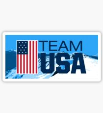 Team USA Olympia Winterberge Sticker