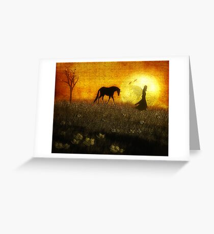 Guided by the Moonlight Greeting Card