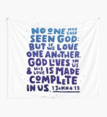 Love One Another Wall Tapestry