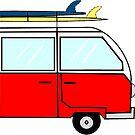 Surf Van by bkidesigns