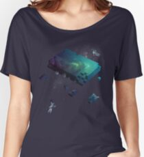 Constructing the Cosmos Women's Relaxed Fit T-Shirt