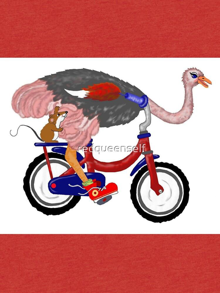 Едем в гости к страусам
