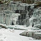 Frozen Rosecrans Falls by shawng13