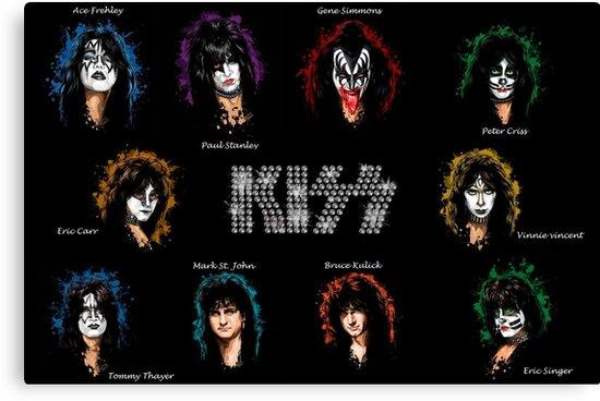 All kiss members