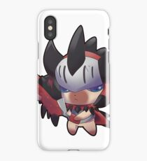 Monster Hunter World Rathalos Armor Palico iPhone Case