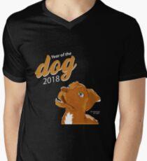 Jakk - Year of the Dog 2018 Men's V-Neck T-Shirt